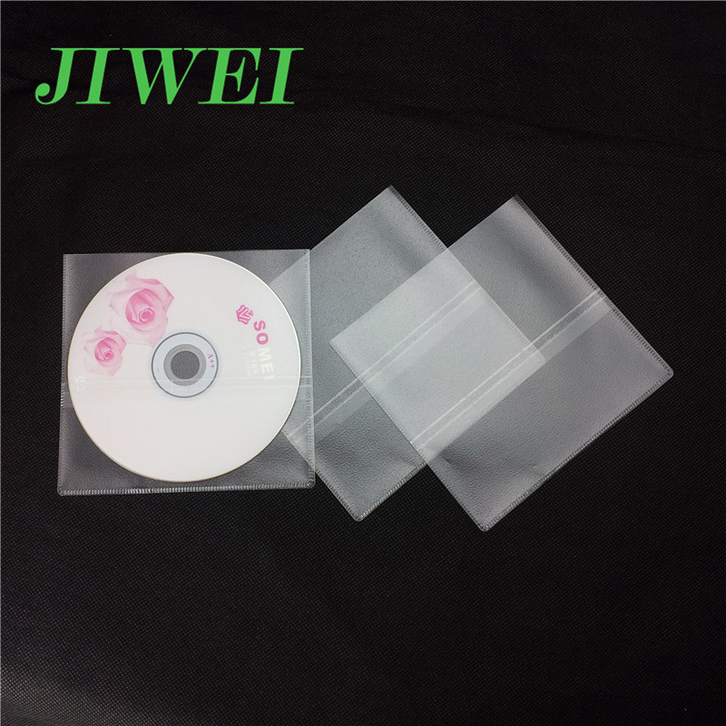 Guangzhou Supplier Sleeve Stick on CD Holder Plastic DVD Holders