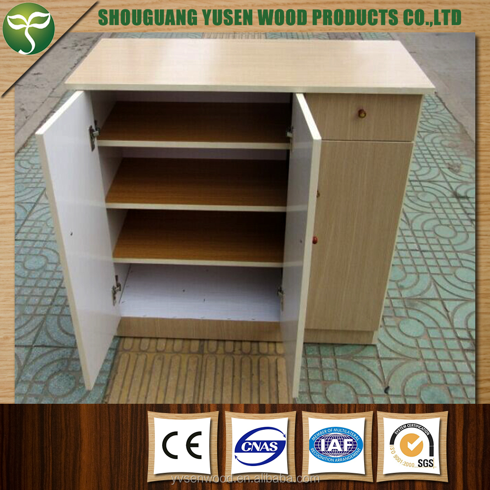 Full length mirror shoe cabinet with five drawers