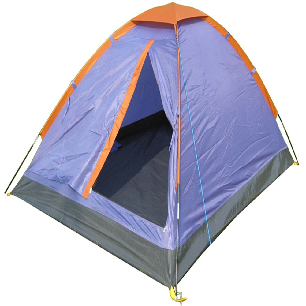 Single Layer Cheap Two Person Portable Camping Tent