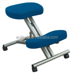 Height adjustable kneeling chair popular in Europe and Australia