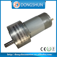 DS-50RS555 50mm 24v dc small 12v dual shaft gear motor
