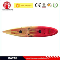 2015 Popular Rotational mould 2 Person Plastic Fishing Kayak