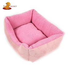 China Professional Manufacture Dog Cushion PP Cotton Stuffing Pet Dog Beds