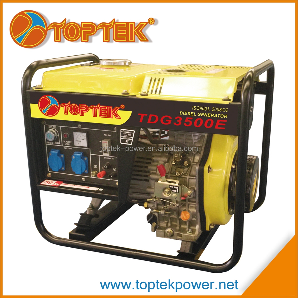 Cheap price small and light generator 3kw electric generator price