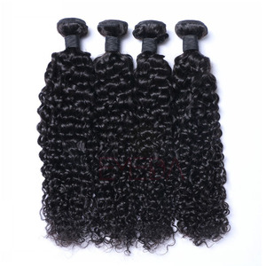 100% Natural Brazilian hair price list Kinky hair Weave Human hair weave bundles --HW