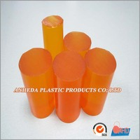 Transparent Brown polyurethane casting plastic PU Bar