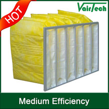 High quality F5 F6 F7 F8 high dust contain capacity bag type air filter manufacture