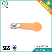 handbags and accessories plastic zipper puller and metal slider for purse and luggage