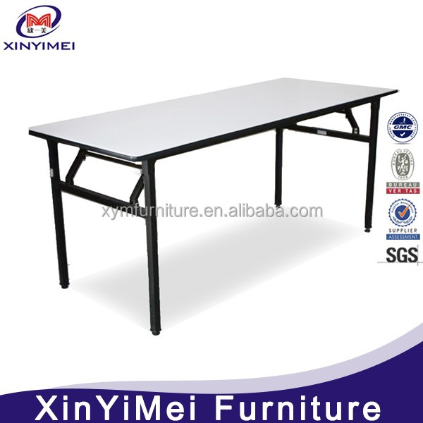 Modern hotel catering folding dining table set wholesale
