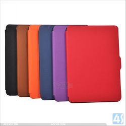 Colors Customized Tablet Leather Case for Amazon Kindle Paperwhite Case P-KINDLEPWCASE002