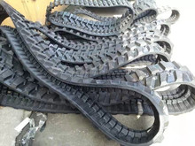 Mini Excavator Rubber Track,250mm,300mm,320mm,350mm,400mm,Mini digger robot rubber link track and pads,