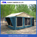 3-4 person camper roof top tent on trailer 2017 with wholesale