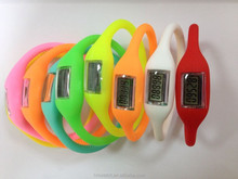 China supplier cheap fashion fitness wristband pedometer for wholesale