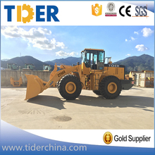 China TIDER 5 ton 7 ton 6 ton wheel loader price competitively