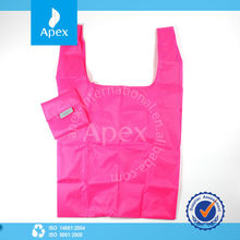 high quality polyester foldable shopping bag
