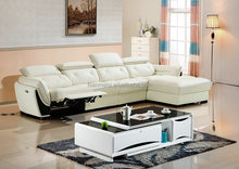 cheap living room white sofa / germany living room leather sofa / couch