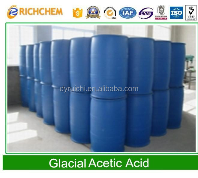 Best Quality Clear, colorless liquid CAS 64-19-7 glacial acetic acid