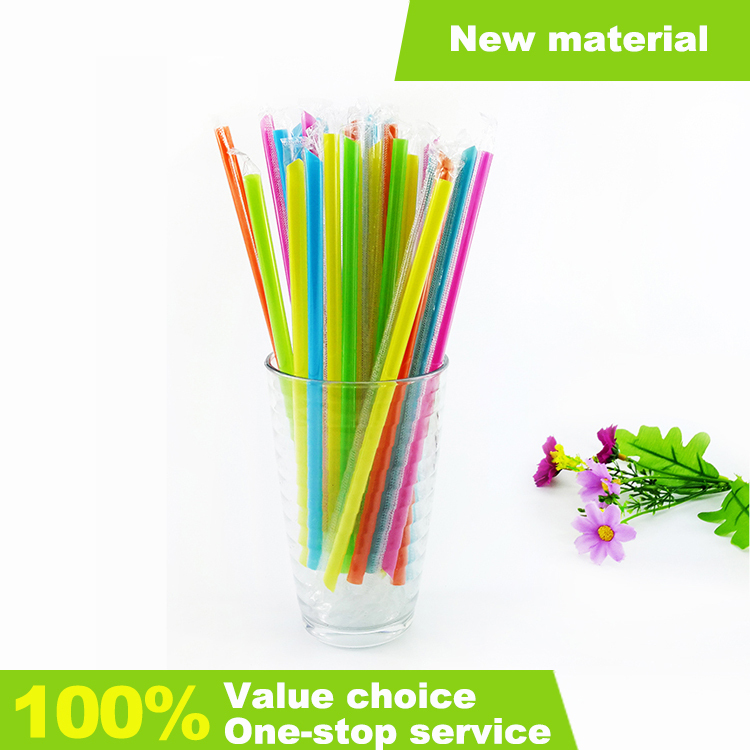 disposable plastic custom drinking straw