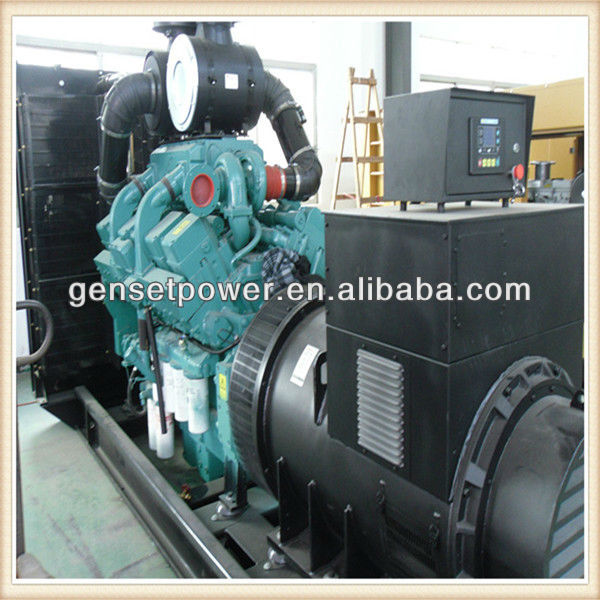 60hz 3 phases Heavy duty power 1mw Diesel Generator with Cummins Engine