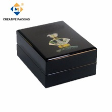 Luxury Design Piano Finish Unfinished Wooden Perfume Packaging Box