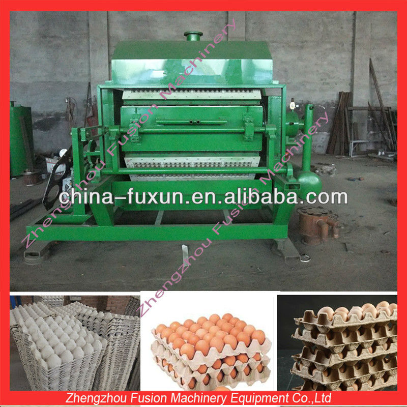 top egg tray production line/egg plate making machine 2*3/4*4 /paper egg tray plant