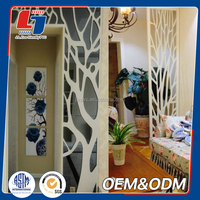 best selling building material water transfer printing outdoor pvc deco sheet price pvc wall panel