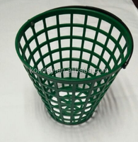 Plastic golf range basket