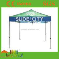 Advertising Gazebo Tent With Side Full Wall