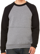 Sweatshirt - Mixed Patterns - Cotton & Polyester Blend Ring Spun Long Sleeve - Unisex - New Style