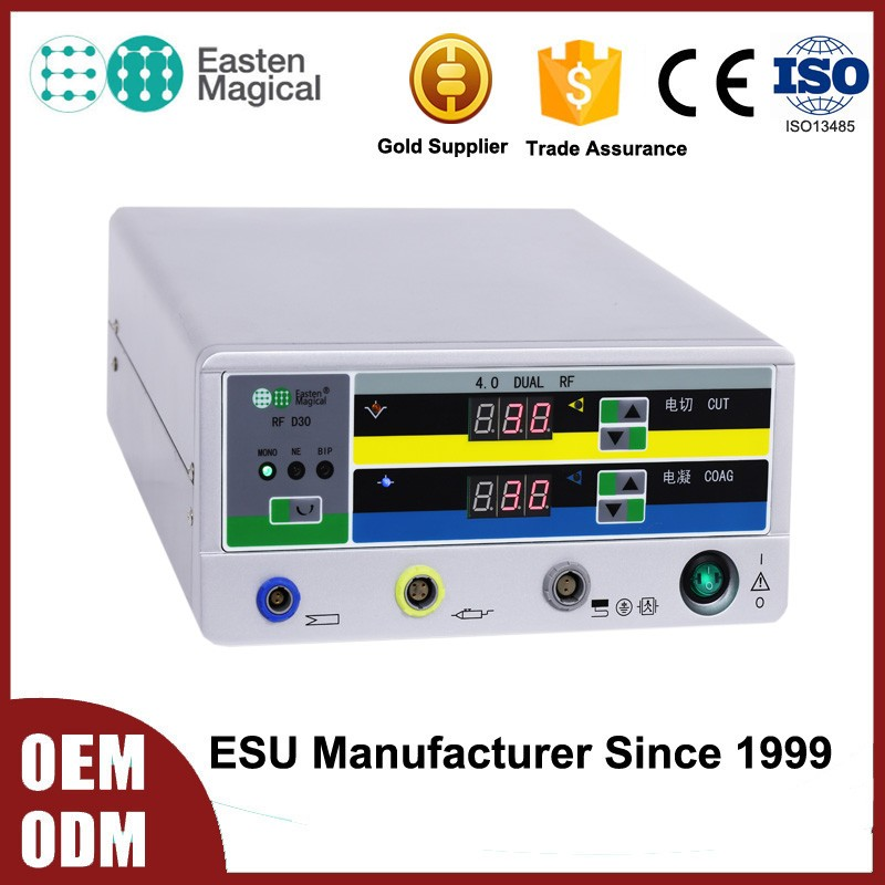 Dermatological Surgery Electrosurgical Unit Diathermy Generator in radiofrequency