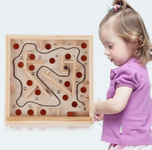 Creative Wooden Math Toy Baby Children Maze Toys Intellectual Development Of Children's Educational Classic Toys Gifts