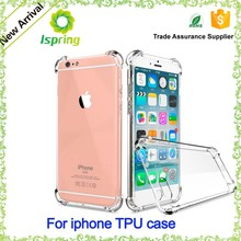 Alibaba China TPU Back Cover Cellphone Case For Iphone 7 Transparent TPU Case