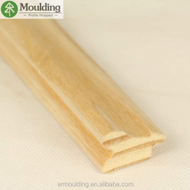 New Zealand pine wood decorative picture frame moulding