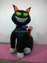 20 FOOT Animated Party Halloween Inflatable Black Cat Yard Outdoor Decoration
