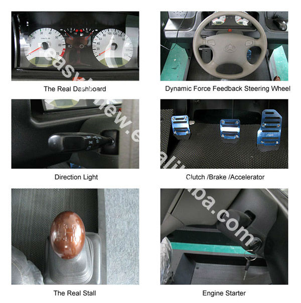 21inch Hot sale car driver simulator with CE certificate
