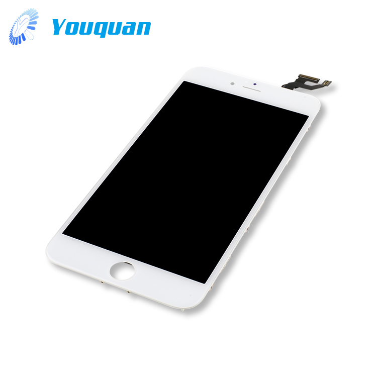 factory price touch screen lcd for iphone 6s plus white digitizer assembly