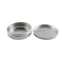 150ml empty round labeling coffee tin, aluminum candle jar ,body butter cosmetics container