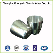 High purity 99.95% platinum crucible 200ml for melting silver