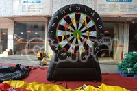 Kids Favourite Inflatable Board Dart Sport Game with 20 Darts