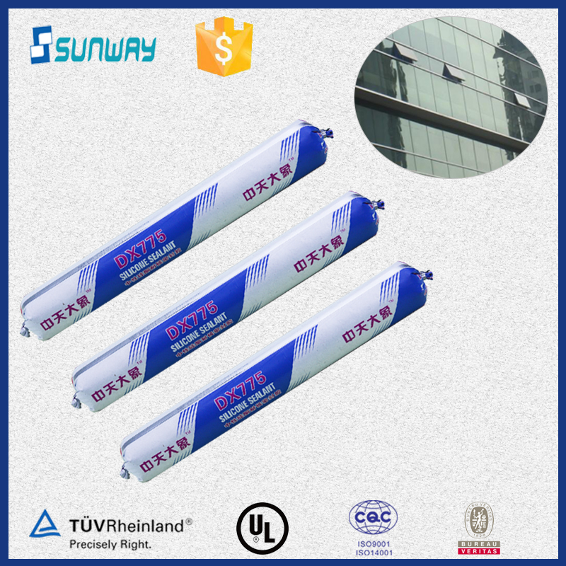 DX-775 high quality neutral silicone sealant for fish tanks from manufacturer