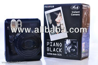 Fuji Instant Black Piano Polaroid Mini 50s Fujifilm Camera
