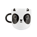Custom made plastic cute animal face mug