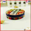 unique wholesale gift can food tin round metal case