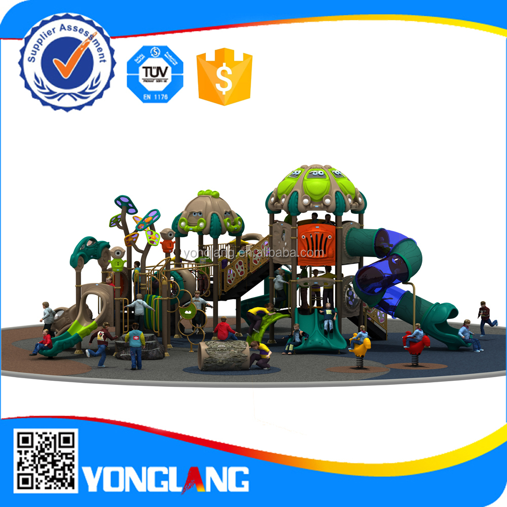 Amusement outdoor playground,childrens play gym sets