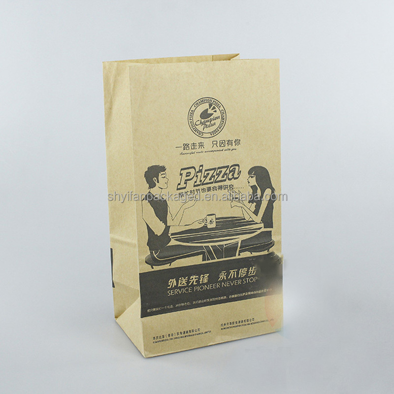 Fried chicken Take away fast food paper bag for food industry