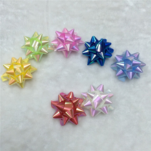 Wholesale Mini Christmas self-adhesive gift star bows