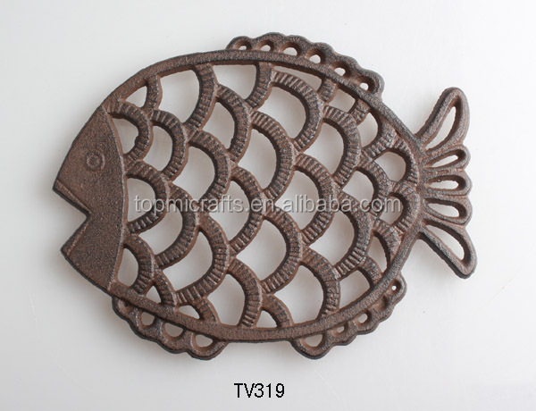 cast iron decoration teapot trivet