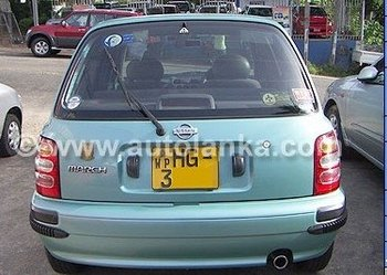 car - Nissan March K-11 For Sale