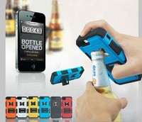 Beer bottle opener phone case for samsung galaxy s5/s4/s3 with stand