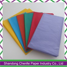2016 Hot Selling Good Quality Colorful Tissue Paper for Sale